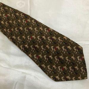 NWOT Salvatore Ferragamo Silk Tie